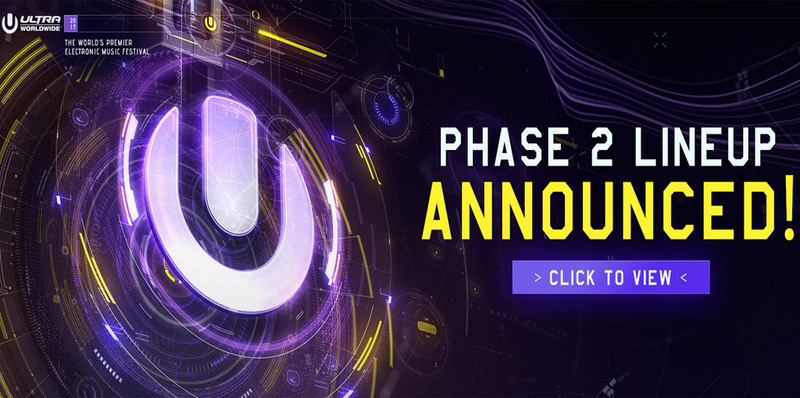 ULTRA 2017 PHASE 2 LINEUP ANNOUNCED! Image