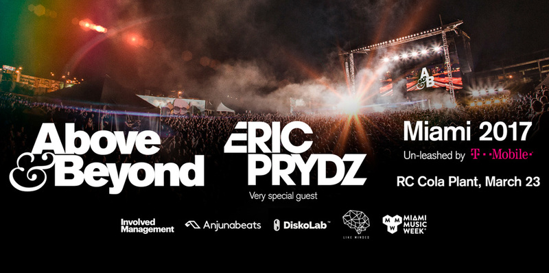 Above and Beyond W/ Eric Prydz at RC Cola Plant, 3/23 Image