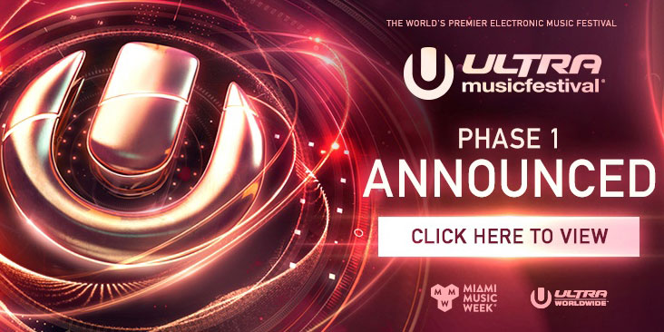 ULTRA MUSIC FESTIVAL'S TWENTIETH ANNIVERSARY - PHASE ONE LINEUP OUT NOW Image