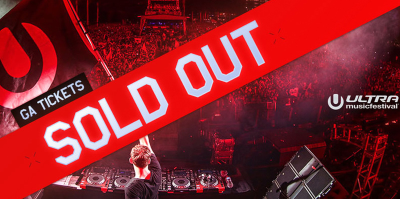 Ultra Music Festival G.A. Tickets Officially Sold Out! Image