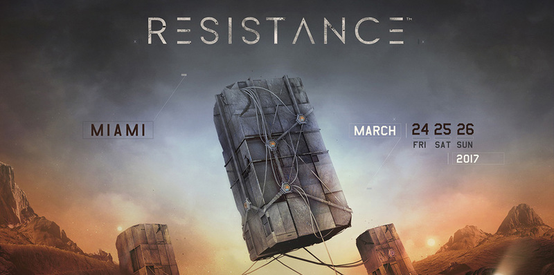 Ultra Music Festival Unveils Resistance Image