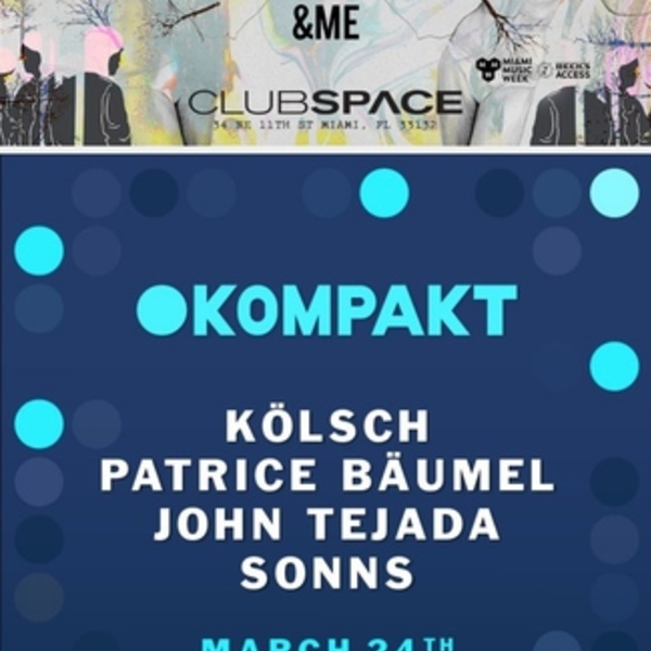 Saturday at Space MMW 2018 Image