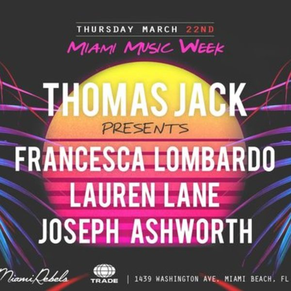 Thomas Jack presents: Francesca Lombardo + Lauren Lane Image