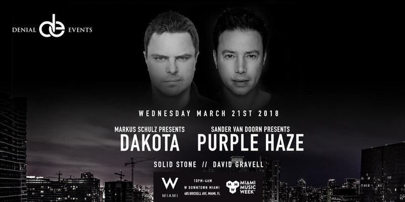 Markus Schulz & Sander Van Doorn Present Dakota & Purple Haze Image
