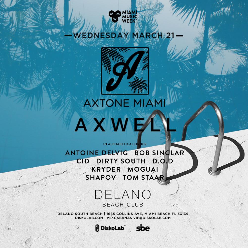 Axtone Miami 2018 Image