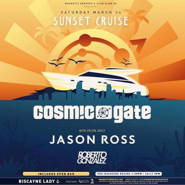 Cosmic Gate & Friends Sunset Cruise 2018 Image