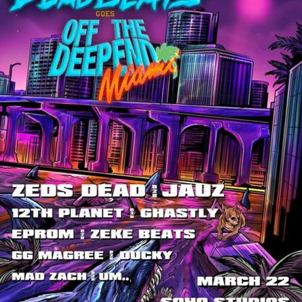 Deadbeats Goes Off The Deep End 2018 Image