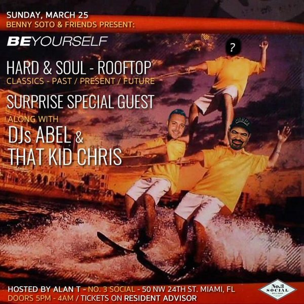 Hard & Soul Rooftop Miami 2018 Image