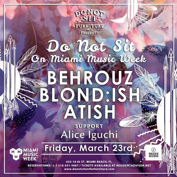 Do Not Sit with Blond:ish, Behrouz and Atish  Image