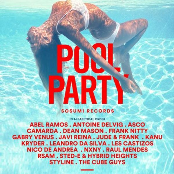 Kryder Presents Sosumi Records Rooftop Pool Party Image