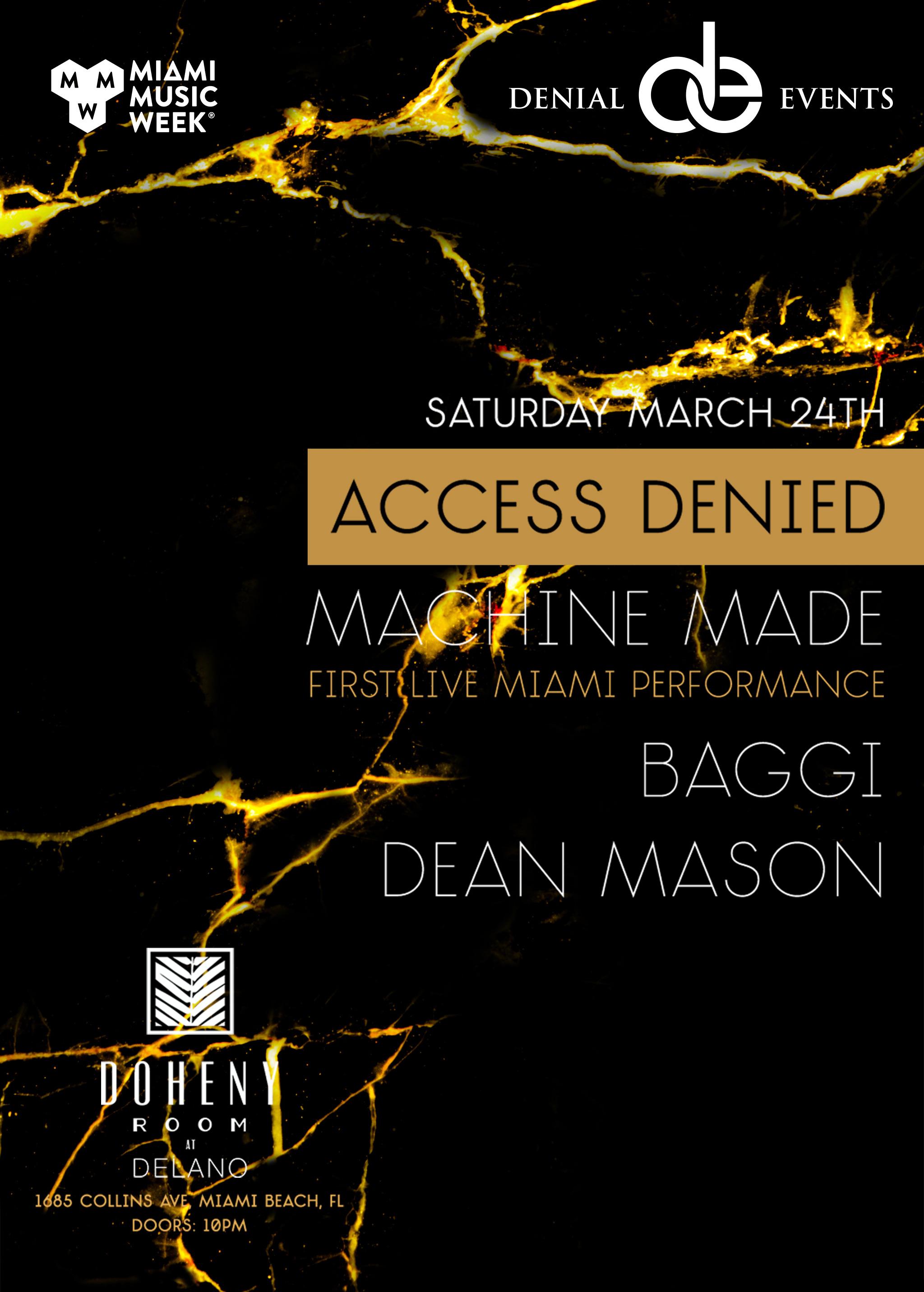 Access Denied with Machine Made, Baggi, & Dean Mason Image