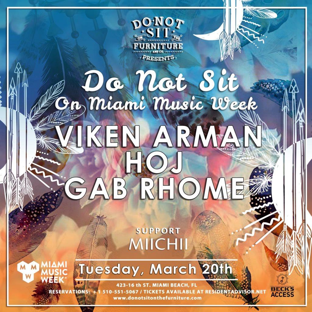 Do Not Sit with Viken Arman, Hoj + Gab Rhome Image