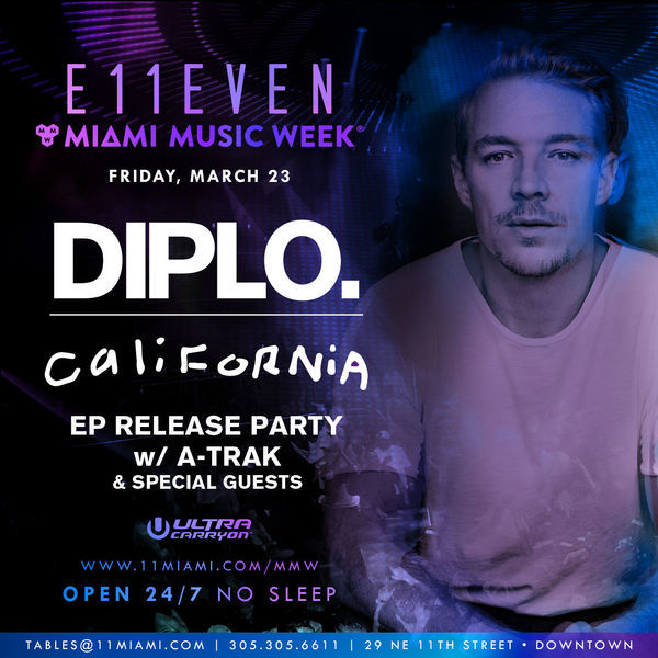 Diplo + A-Trak at E11EVEN Image