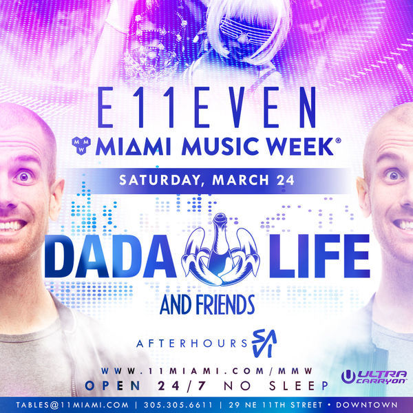 G-Easy + Dada Life at E11EVEN Image