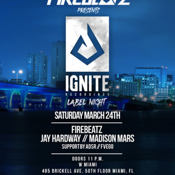 Firebeatz presents Ignite Recordings Label Night Image