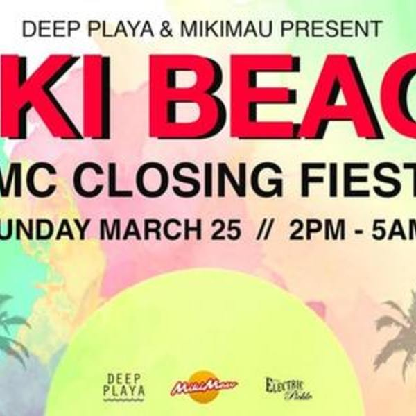 Miki Beach WMC Closing Fiesta Image