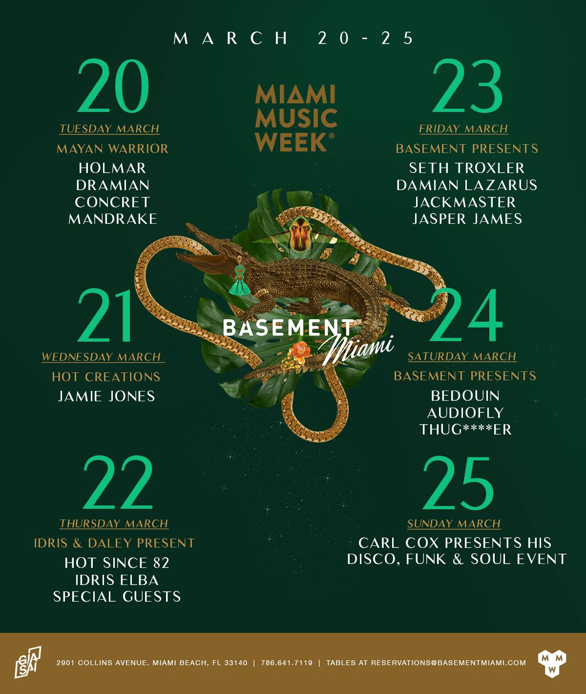 Idris Elba, Hot Since 82 & Special Guests | Miami Music Week