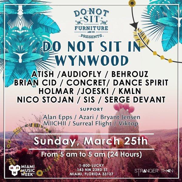 Do Not Sit In Wynwood Image