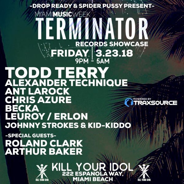 Terminator Records Miami Showcase Image