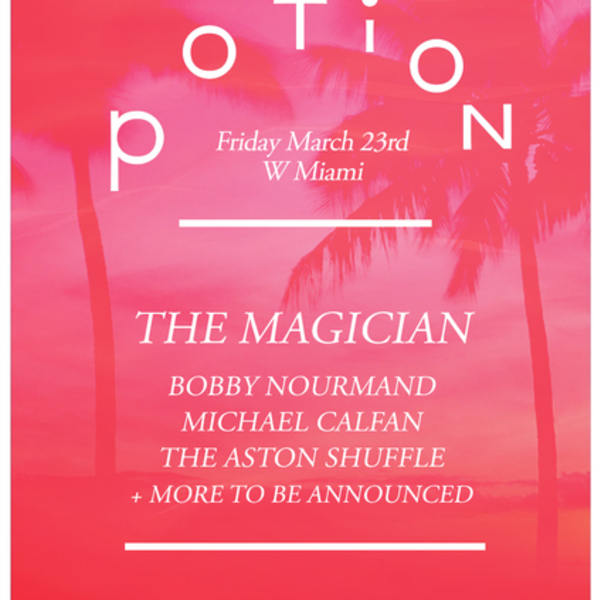 The Magician Presents: Potion Rooftop Pool Party Image