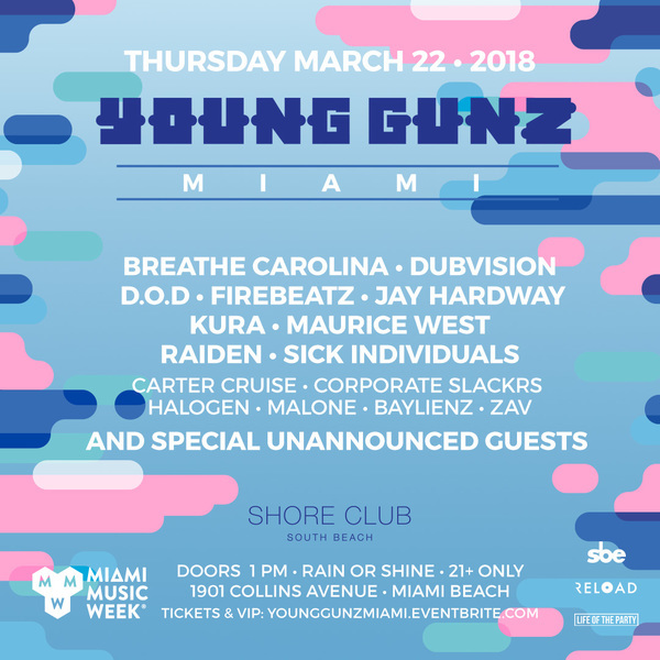 Young Gunz featuring SPECIAL GUESTS TO BE ANNOUNCED Image