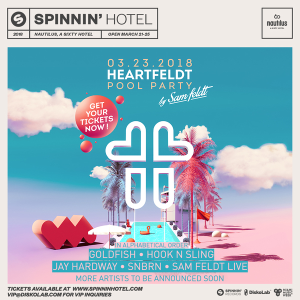 Heartfeldt Pool Party 2018 Image