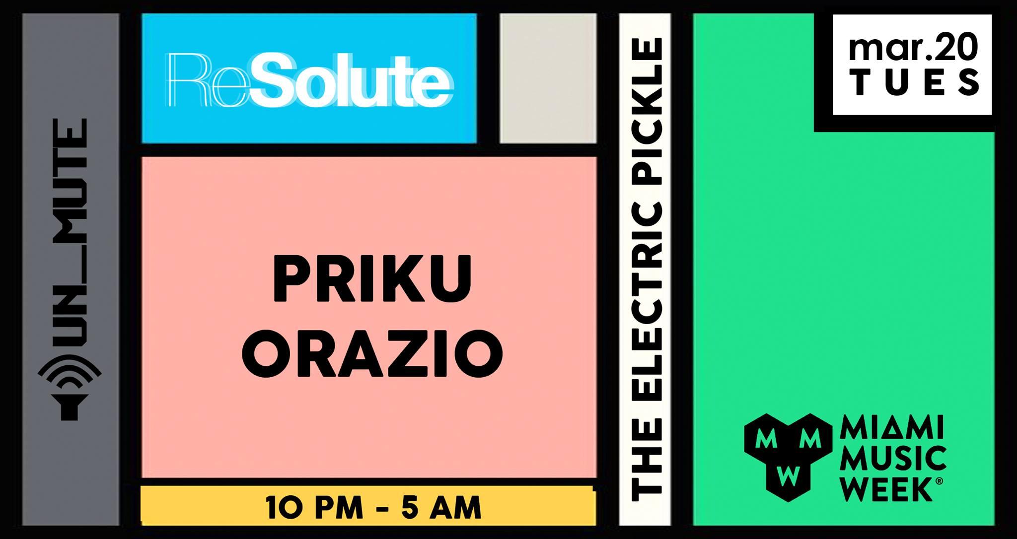 ReSolute & Un_mute MMW with Priku & Orazio Image