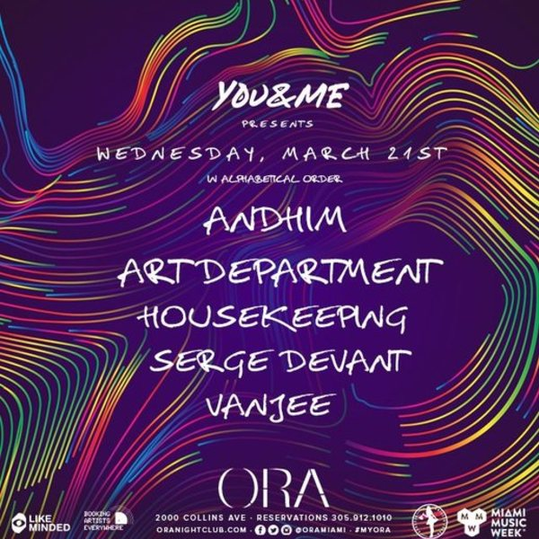YOU & ME presents AndHim & Art Department  Image