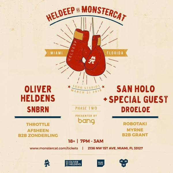 Heldeep Vs. Monstercat Image