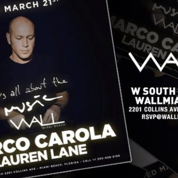 It's All About the Music with Marco Carola Image