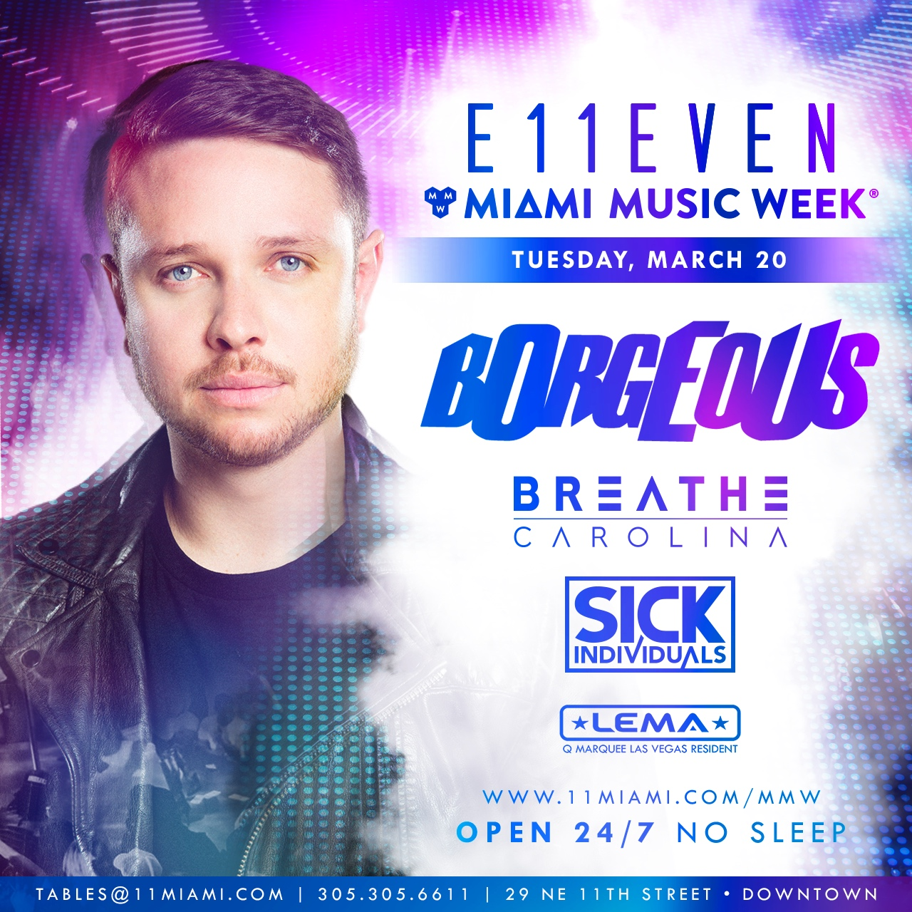 Borgeous at E11EVEN Image