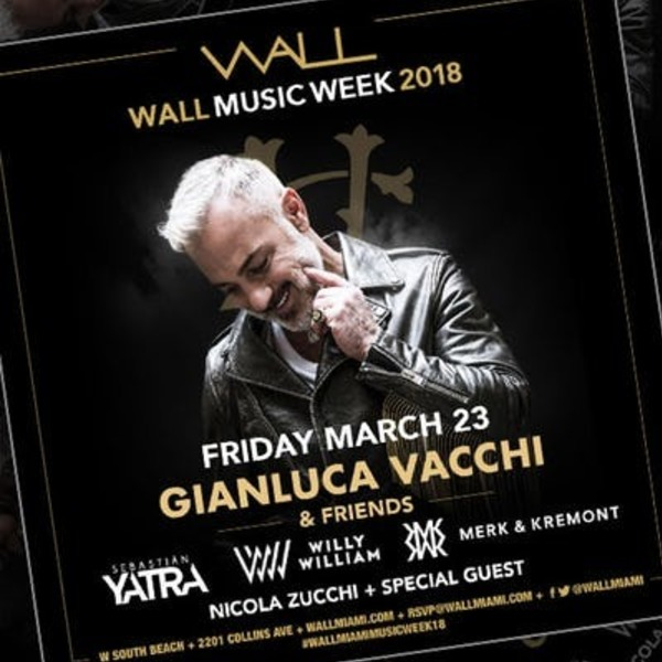 Gianluca Vacchi + Friends at Wall Lounge Image