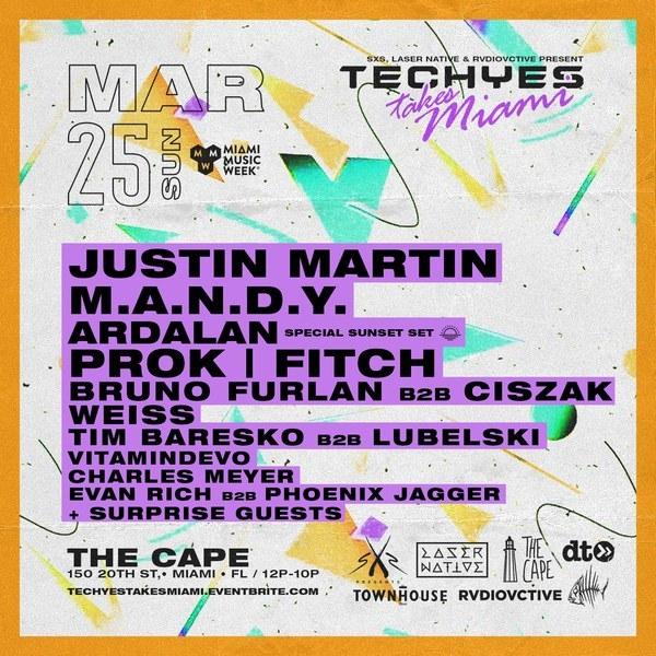 Techyes takes Miami Music Week Image