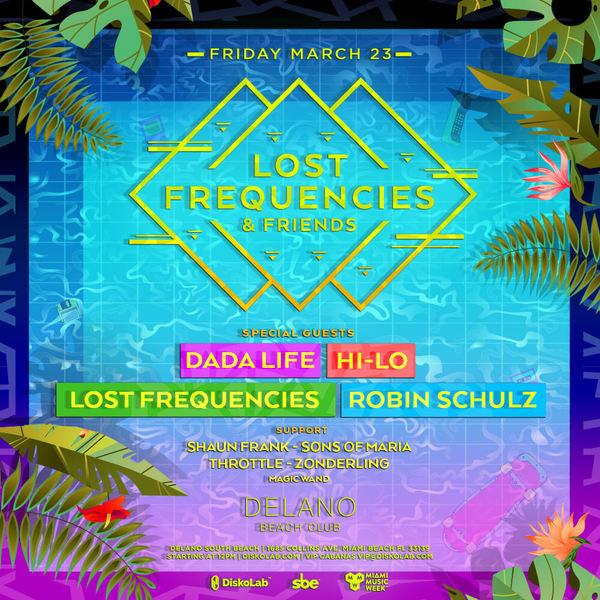 Lost Frequencies w/ Dada Life, HI-LO, Robin Schulz Image