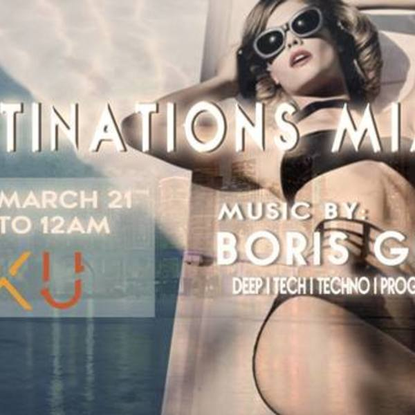 Destinations Miami | Boris Gluck  Image
