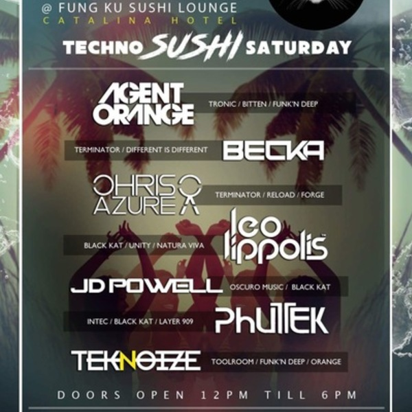 Techno Sushi Saturday Image