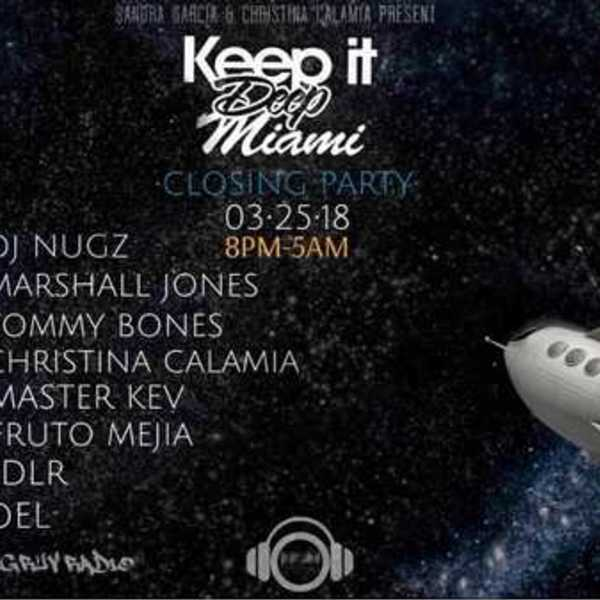 Keep It Deep Miami Closing Party WMC/MMW 2018 Image