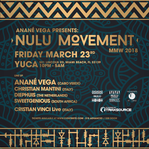 ANANÉ VEGA PRESENTS NULU MOVEMENT Image