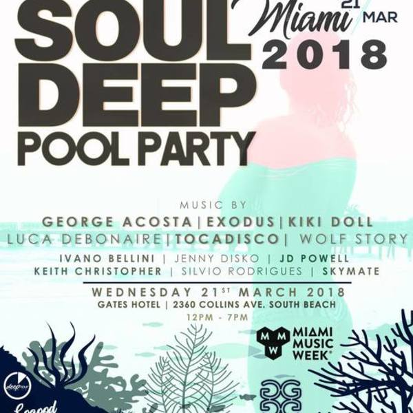 Soul Deep Pool Party Image