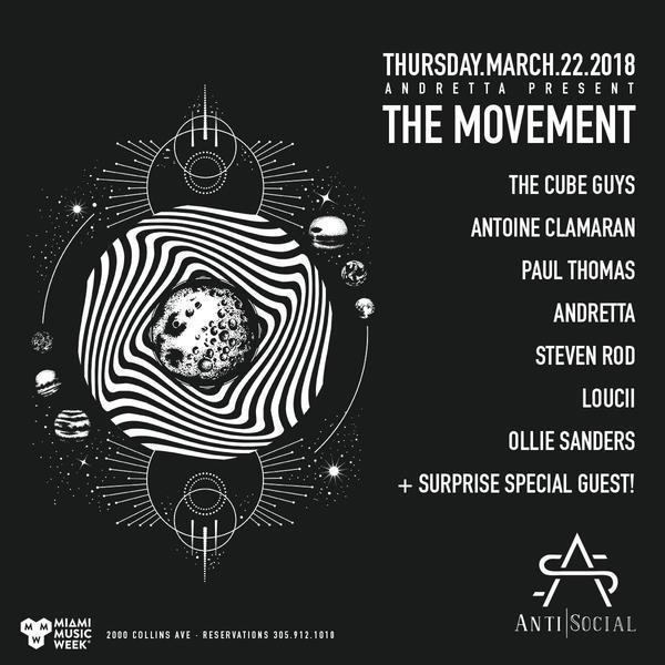 Andretta Present the Movement  Image