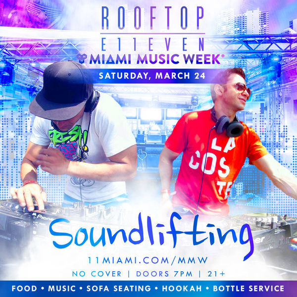 Soundlifting At ROOFTOP at E11EVEN Image