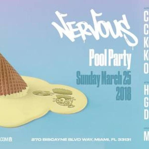 Nervous Pool Party 2018 Image