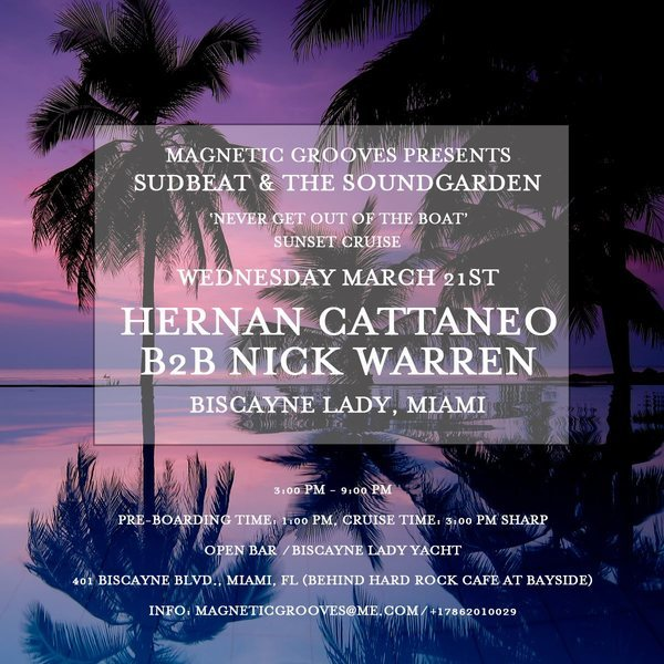 Never Get Out Of The Boat Cruise with Nick Warren & Hernan Cattaneo Image