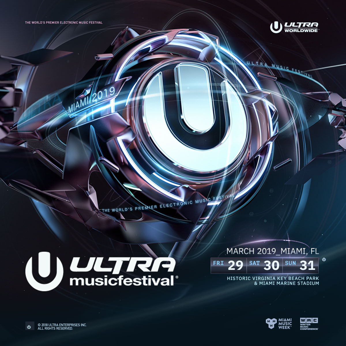 Ultra Music Festival - Day 1 Image