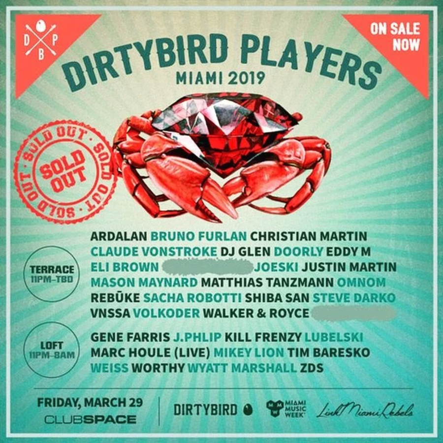 Dirtybird Players Miami Image