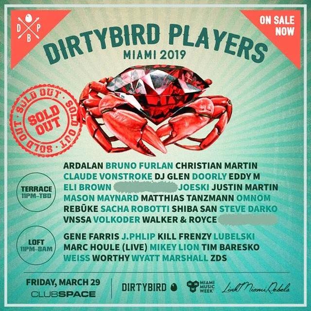 Dirtybird Players Miami Image