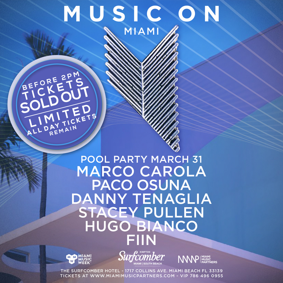 Music On Miami - Closing Pool Party Image