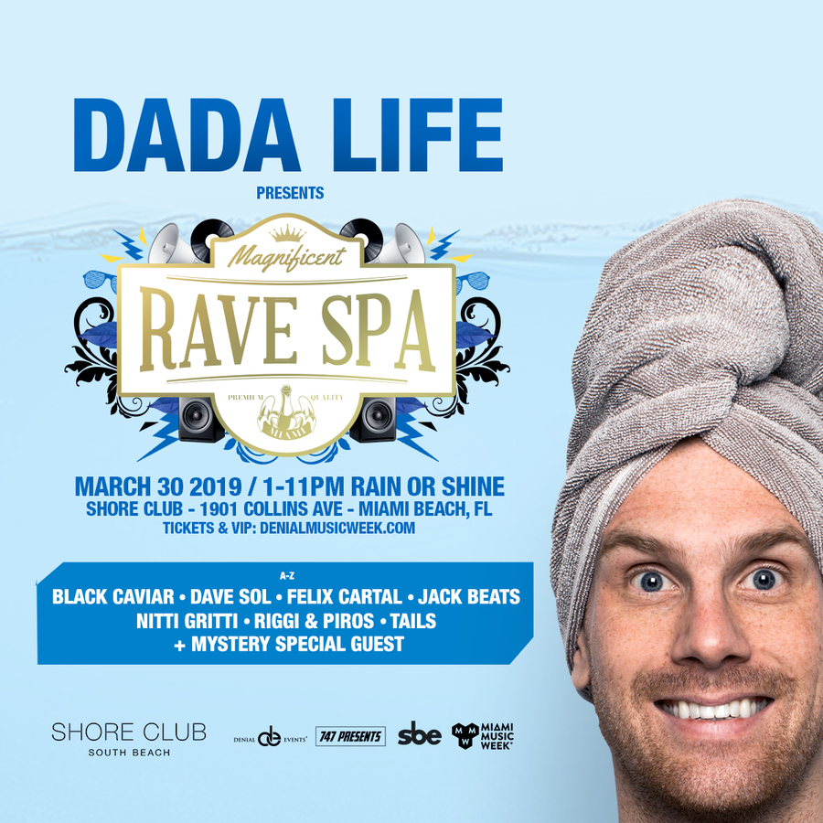 Dada Life presents the Magnificent Rave Spa Image
