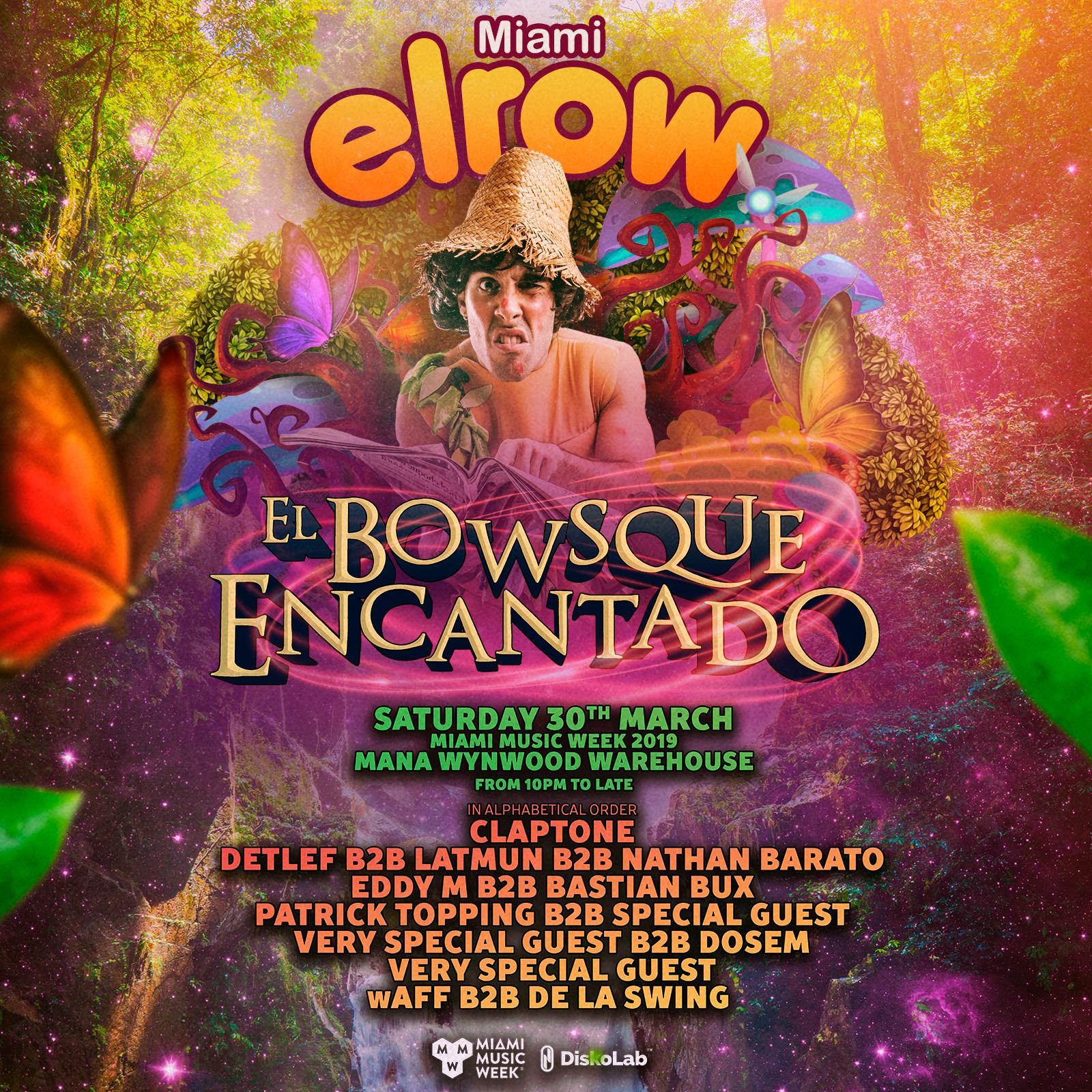 Elrow Miami Music Week 2019 Image