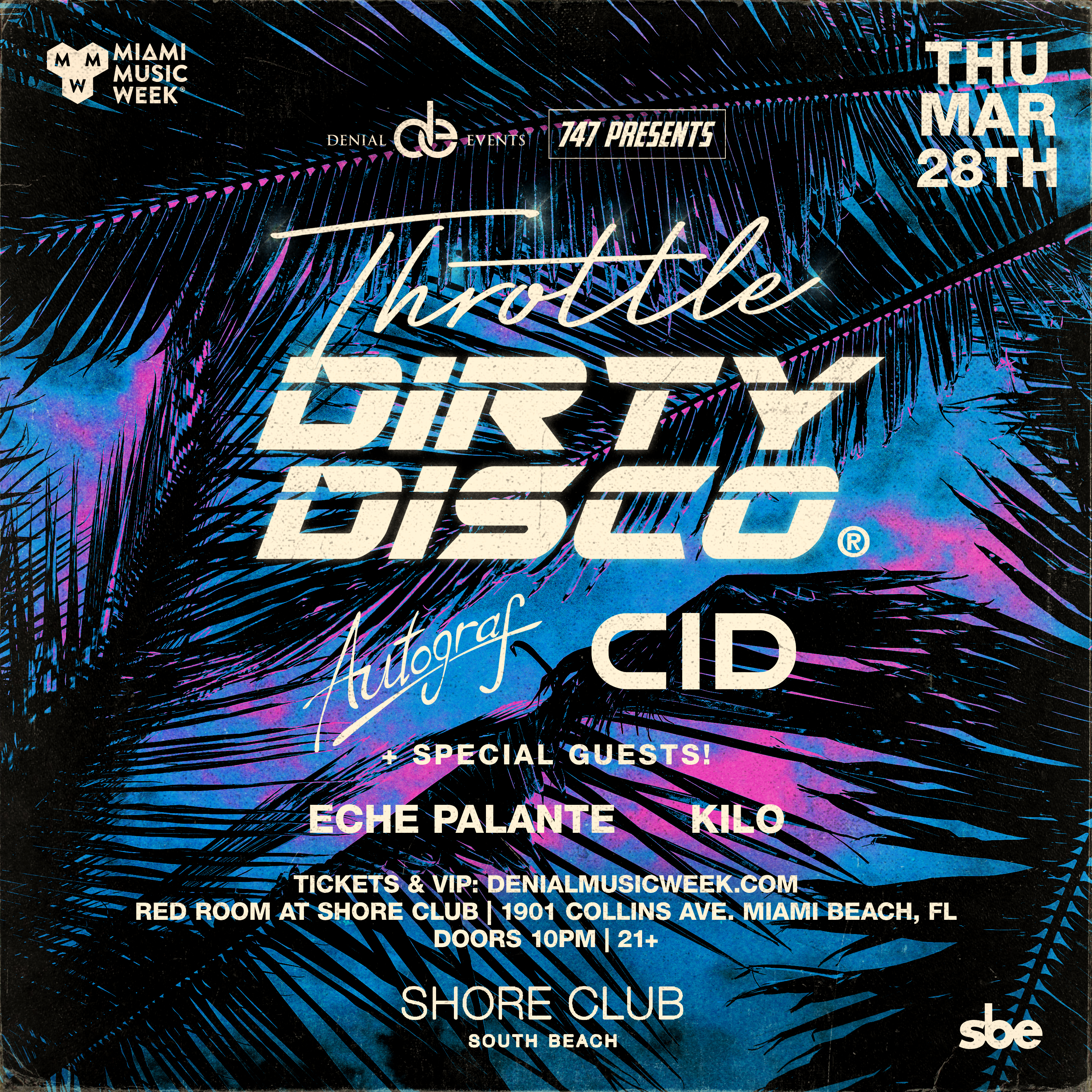 Throttle presents Dirty Disco Image